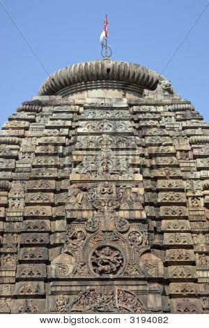 Detail Of Hindu Temple