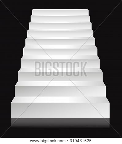 Stairs Or Staircases, Podium Ladder Template, Steps Or Stairway