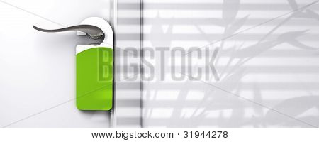 green door hanger