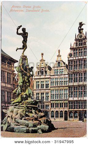 Antwerp Brabo Statue
