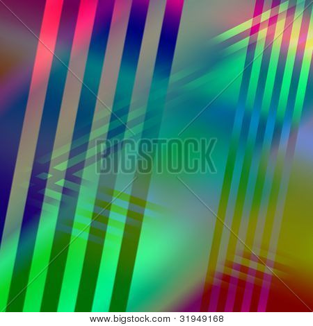 Intersecting lines and vibrant colors for patterned  background poster