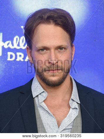 LOS ANGELES - JUL 26:  Jon Cor arrives for the Hallmark Channel and Hallmark Movies & Mysteries Summer 2019 TCA on July 26, 2019 in Los Angeles, CA