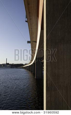 Bridge from Stockholm and Lidingö