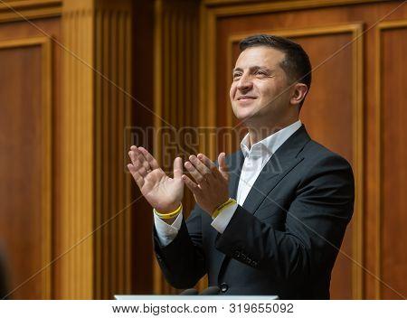 President Of Ukraine Volodymyr Zelensky