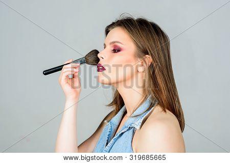 Professional Makeup Supplies. Skin Care. Makeup Cosmetics Concept. Skin Tone Concealer. Cosmetics Sh