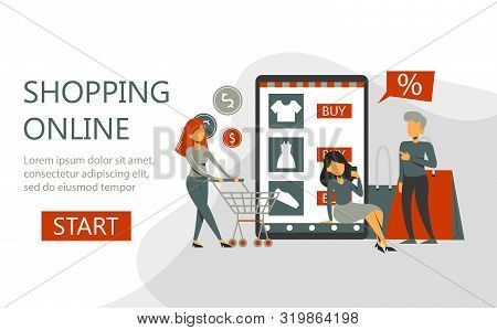 Online Shopping In The Mobile Phone, E-commerce