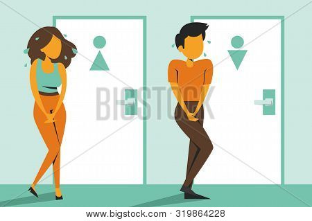 My Body My Choice, Keep The Abrotion Legal. Woman With Poster On Protest Vector Isolated. Feminism F