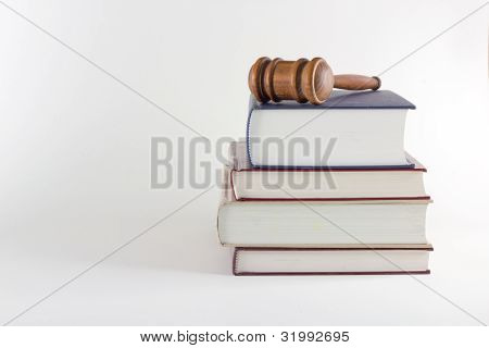 Gavel atop Legal Text