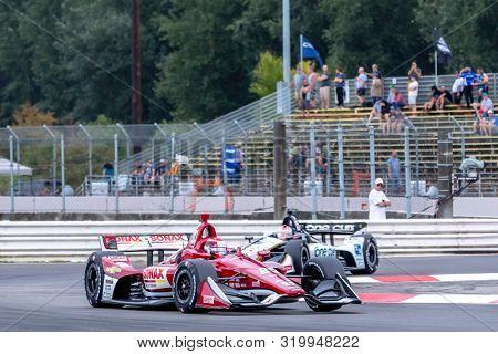 August 30, 2019 - Portland, Oregon, USA: ED JONES (20) Of the United Arab Emirates   practices for the Grand Prix of Portland at Portland International Raceway in Portland, Oregon.