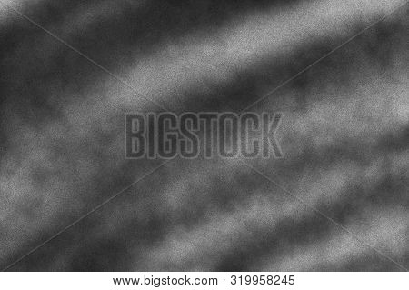 Subtle Noise Texture. Gritty Grunge Background With Black Paint Spots Isolated On White Paper