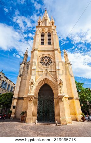 Carre Sainte Anne Or Saint Anna Church Located In Montpellier City In France