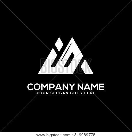 Io Initial Logo Inspiration, I And O Logo Vector, Can Used Sport, Finance, Firm Logo Template