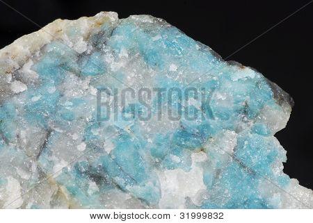 blue lazulite mineral