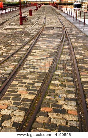 Railway In Leith Docks