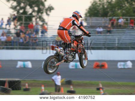 Supermoto Racing In Clio Michigan 2008