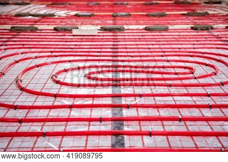 Water Heating System And Underfloor Heating System