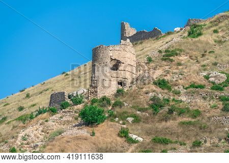 Balaklava Bay, Sevastopol. The Old Military Fortifications