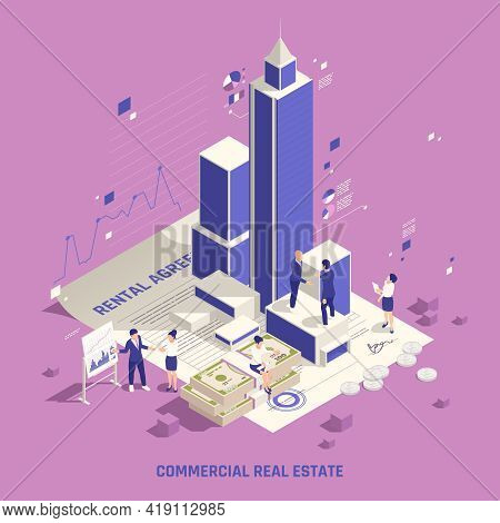 Profitable Investing In Real Estate Commercial Buildings Business Office Edifice Tower Rental Income