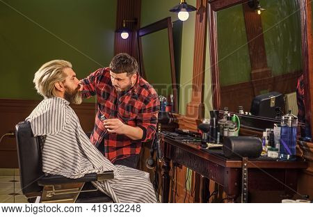 Barbershop Services. Know What Haircut You Want. Visit Hairdresser. Beauty Routine. Maintaining Shap