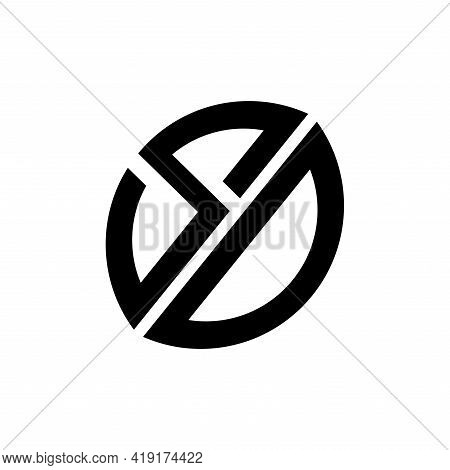 S D Letter Design Logo Vector.  S D Logo Business