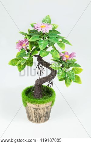 Decoration - Small Artificial Plant To Decorate At Home Or Office.