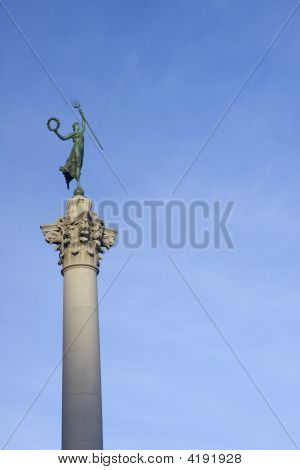 Victory Statue In Union Square, San Francisco