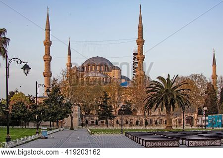 Sultanahmet,istanbul,turkey-april 29,2021. The Dream City Between Europe And Asian Continents, Istan