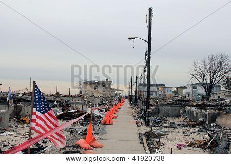 Hurricane Sandy - three months later