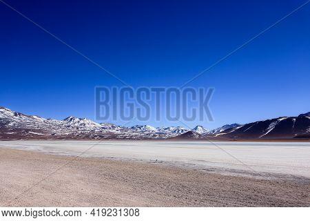 Laguna Blanca Landscape,bolivia