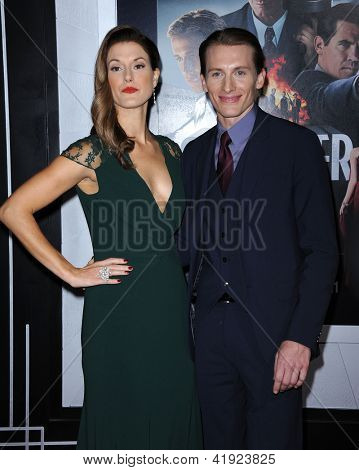LOS ANGELES - JAN 7:  James Hebert & Date arrives to the