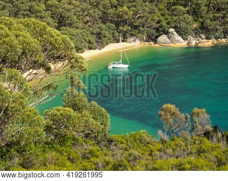 Refuge Cove Provides Safe Anchorage For Those Sailing Through And Around The Southern Coast Of Victo