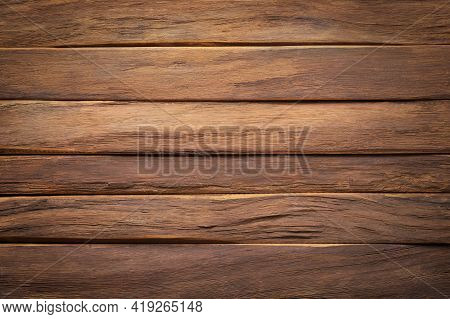 Wood Texture Background. Natural Wood With Empty Space. Wood Plank Texture