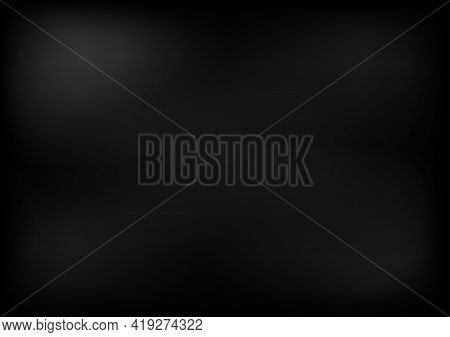 Vector Dark Concrete Cement Gray Color Wall Texture For Background Vector Illustration