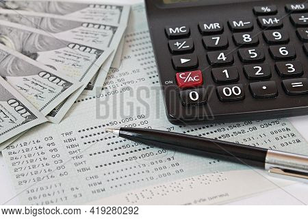Business, Finance, Saving Money, Banking, Loans, Investment, Taxes Money Planning Or Accounting Conc