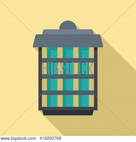 Insect Trap Icon. Flat Illustration Of Insect Trap Vector Icon For Web Design