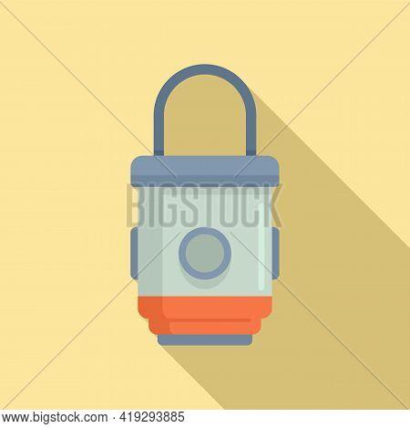 Box Trap Icon. Flat Illustration Of Box Trap Vector Icon For Web Design