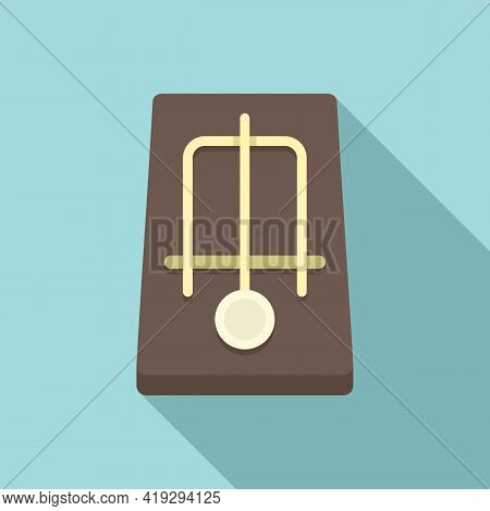 Mousetrap Icon. Flat Illustration Of Mousetrap Vector Icon For Web Design