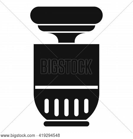 Virus Ultraviolet Device Icon. Simple Illustration Of Virus Ultraviolet Device Vector Icon For Web D
