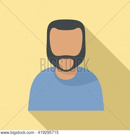 Illegal Immigrant Icon. Flat Illustration Of Illegal Immigrant Vector Icon For Web Design