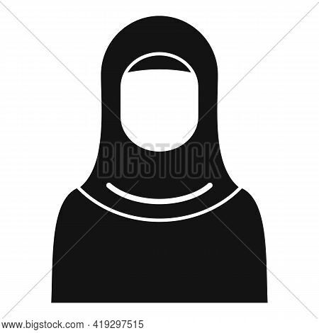 Woman Refugee Icon. Simple Illustration Of Woman Refugee Vector Icon For Web Design Isolated On Whit