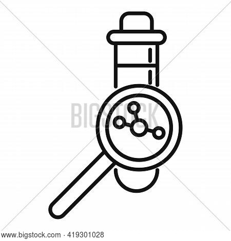 Hormones Icon. Outline Hormones Vector Icon For Web Design Isolated On White Background