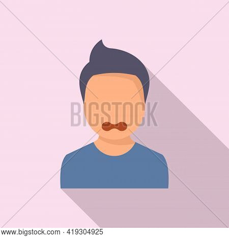 Bad Teen Problems Icon. Flat Illustration Of Bad Teen Problems Vector Icon For Web Design