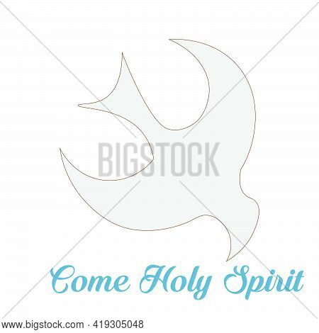 Pentecost Sunday Special Design For Print Or Use As Poster, Card, Flyer Or T Shirt