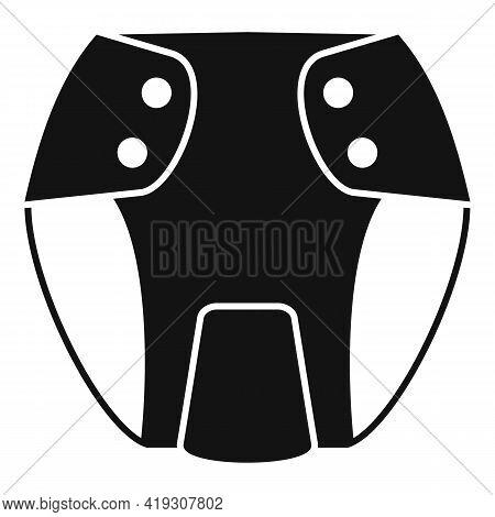 Underwear Diaper Icon. Simple Illustration Of Underwear Diaper Vector Icon For Web Design Isolated O