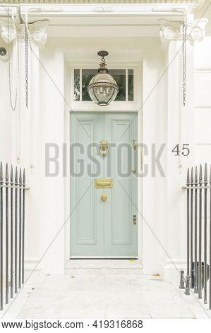 July 2020. London. Doors In South Kensington, London England