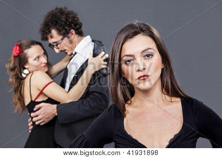 Betrayal Behind Her Shoulders