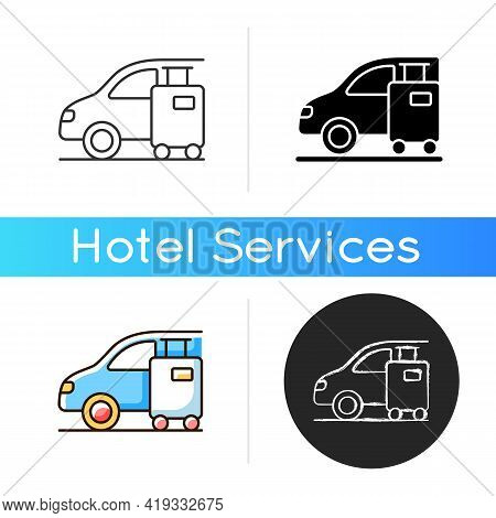 Transfer Icon. Transfer Refers To Method By Which Customer Gets From Airport Or Arrival Point To You