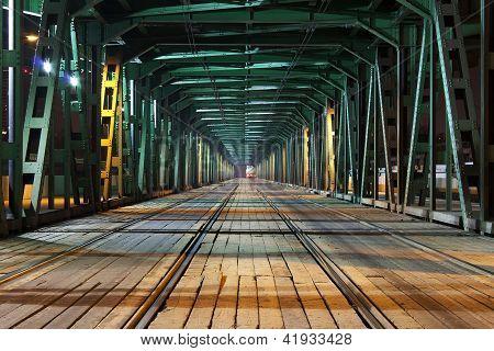 steel/wooden bridge