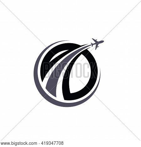 Travel Logo Design. Airlines, Aviation Logo Vector