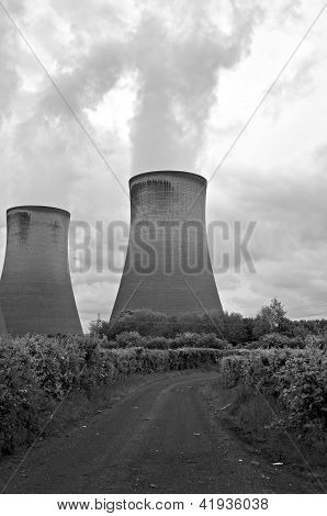 Coal Fired Power Station Cooling Towers